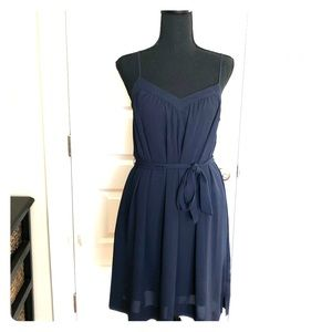 Navy Banana Republic dress, size 4